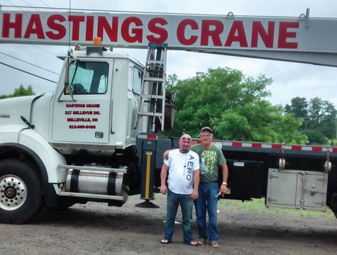 Hastings Crane Rentals employees